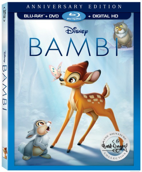Disney's Bambi Signature Collection NOW on Digital HD Blu-ray and DVD