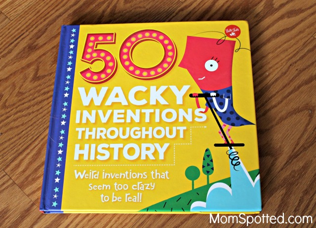"""The Perfect Summer Reading Book: """"50 Wacky Inventions Throughout History"""""""