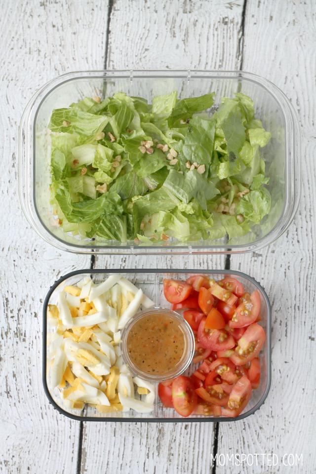 Rubbermaid BRILLIANCE Snack & Salad Set