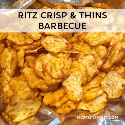 RITZ Crisp & Thins Barbecue