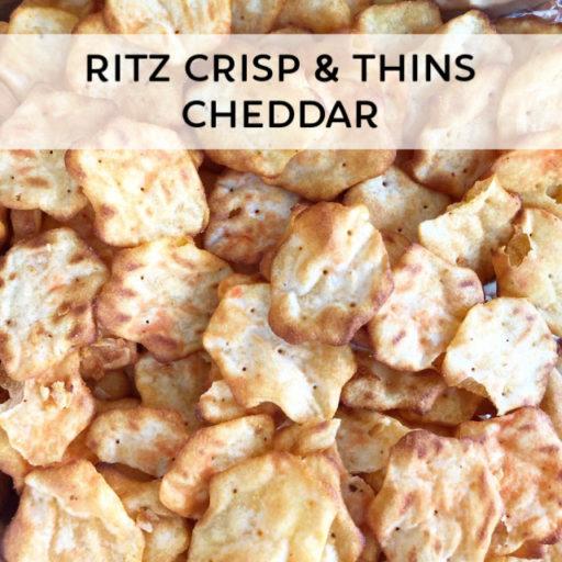 RITZ Crisp & Thins Cheddar