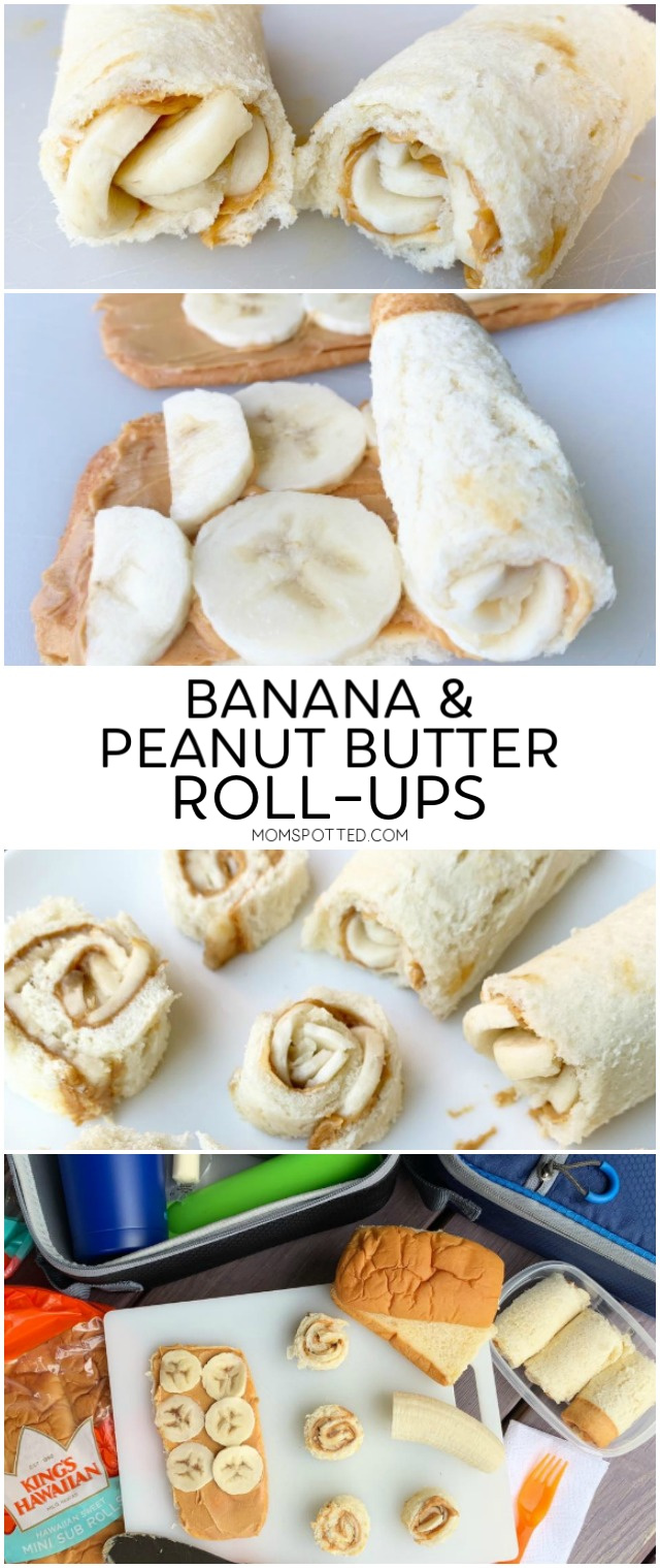 Banana & Peanut Butter Roll Ups